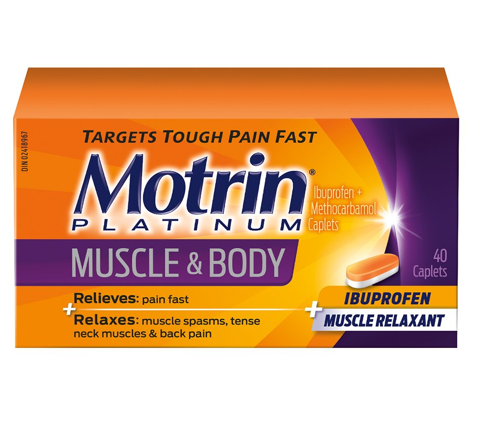 Motrin 174 Platinum Muscle Aches Amp Body Pain Relief Motrin