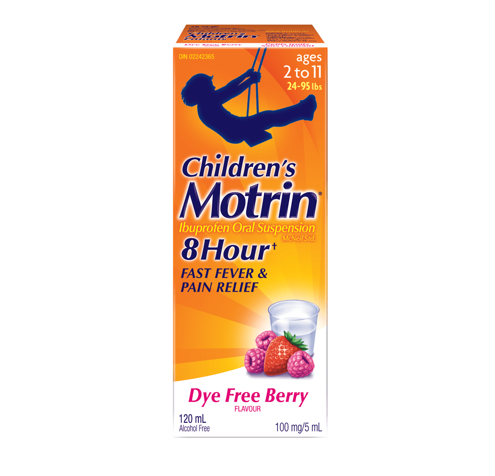 Pain Relief & Fever Reducer For Children | MOTRIN® CANADA
