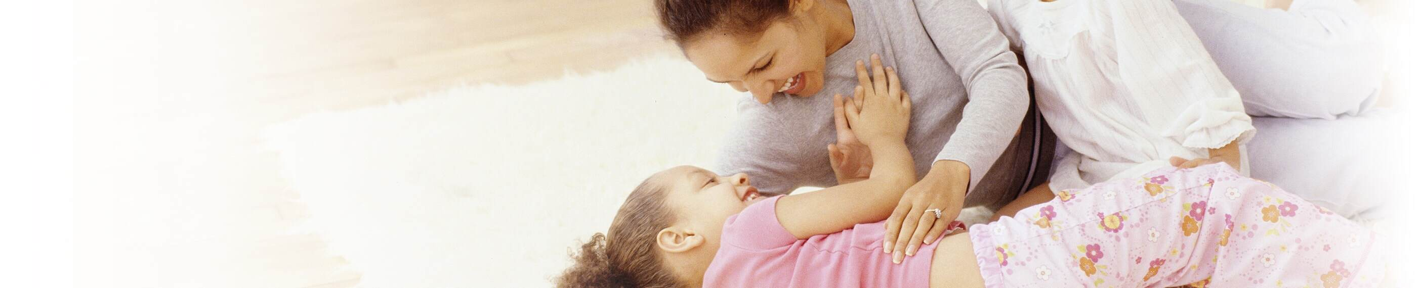 Mother and daughter can get back to playing together thanks to MOTRIN® pain relief