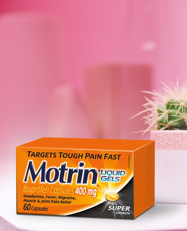 Motrin Liquid Gels Super Strength