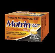 MOTRIN® Liquid Gels