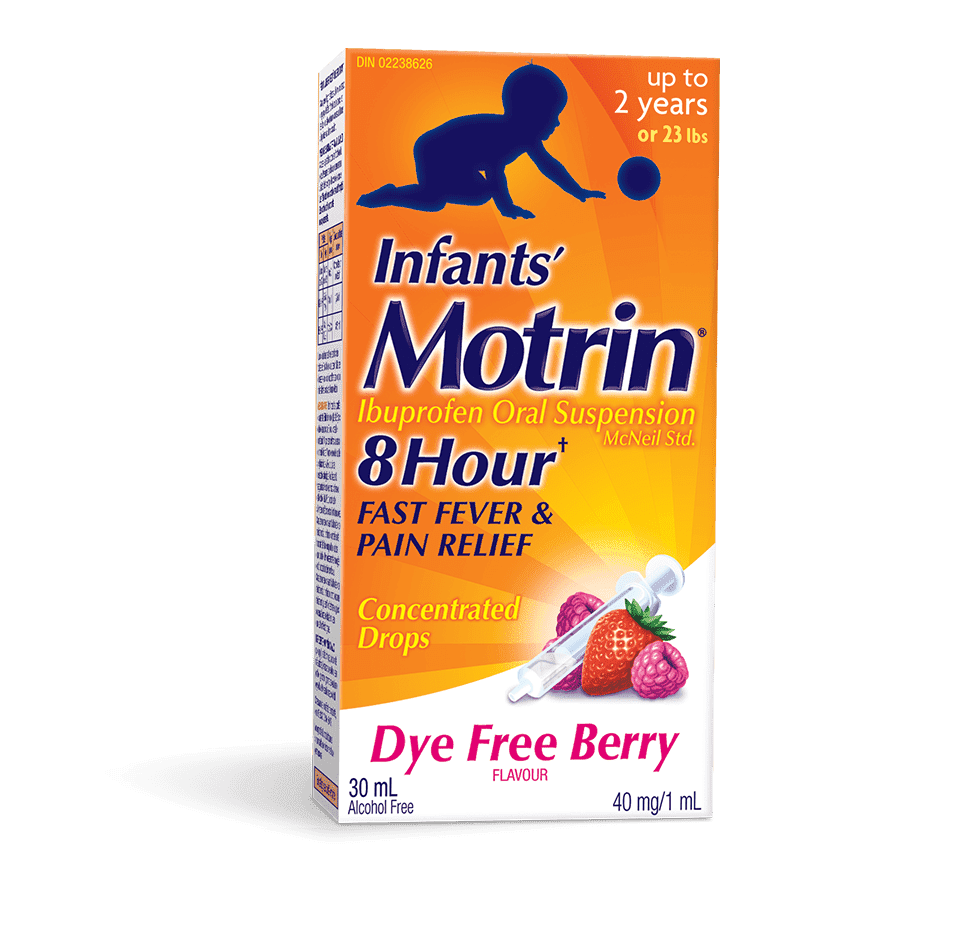 Infant Ibuprofen Fever Treatment Amp Pain Relief Motrin