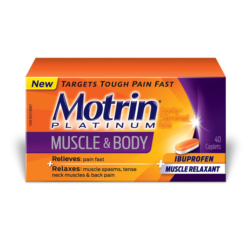 MOTRIN® Platinum Muscle & Body Caplets
