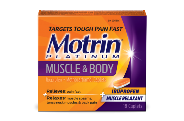 MOTRIN® Platinum Muscle & Body Pain relief