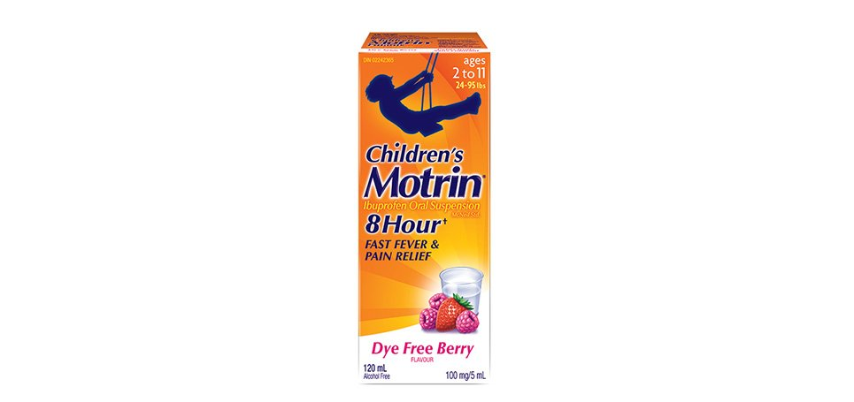 Children's MOTRIN® Suspension